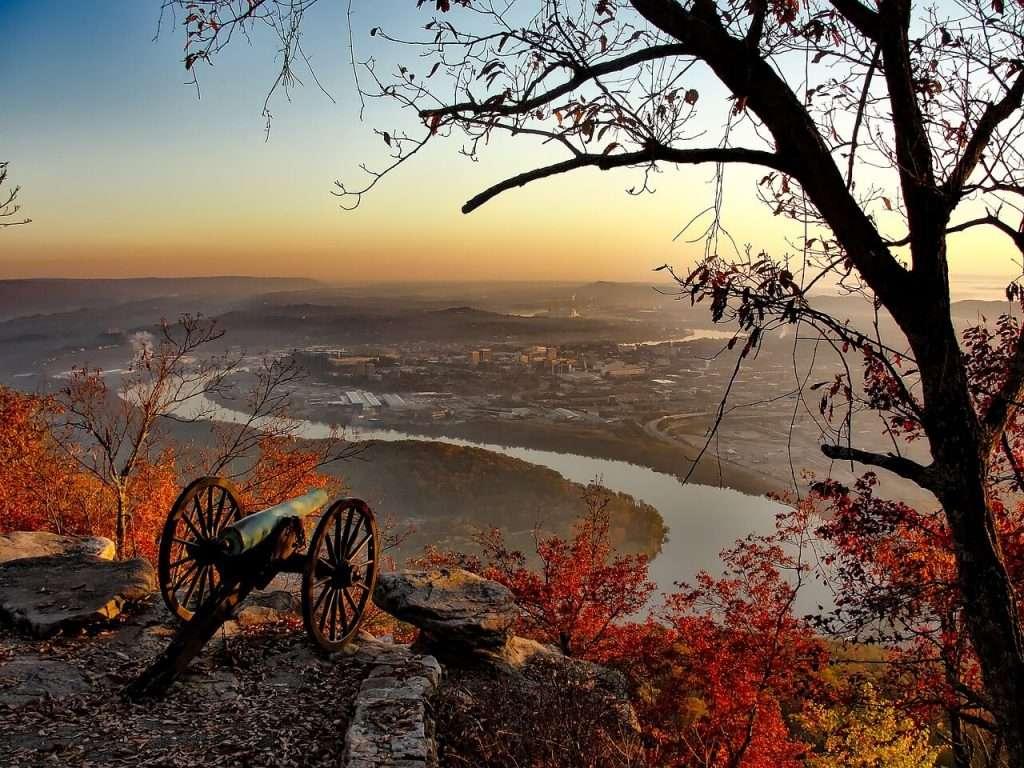 Im Staat Tennessee kann man noch viel von der Geschichte des Landes finden