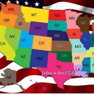 Die Staaten von Amerika die Vereinigten Staaten von Amerika