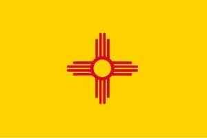 New Mexico Flagge