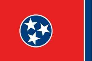 Tennessee Flagge