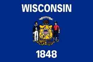 Wisconsin Flagge
