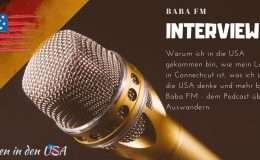 Die Autorin von Leben in den USA im Interview von Baba FM über das Leben in den USA