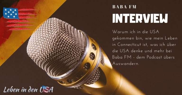 Podcast-Interview bei Baba FM – Ich plaudere aus dem Nähkästchen