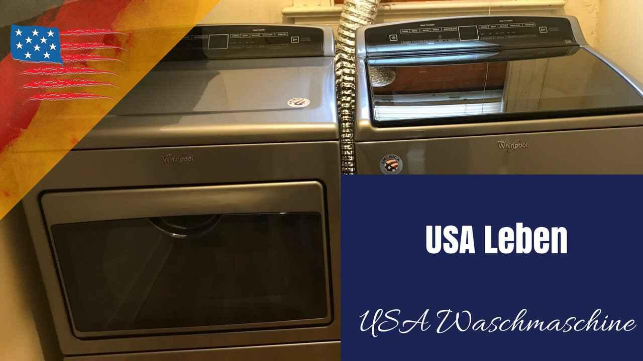 Video Waschmaschine USA