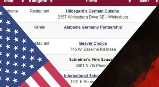 Deutsches in den USA - Restaurants, Shops, Vereine und mehr