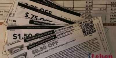 Einkaufsliste mit Matchup um zu couponen
