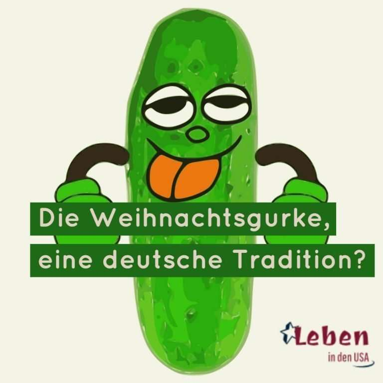 Weihnachtsgurke, eine deutsche Tradition in den USA?