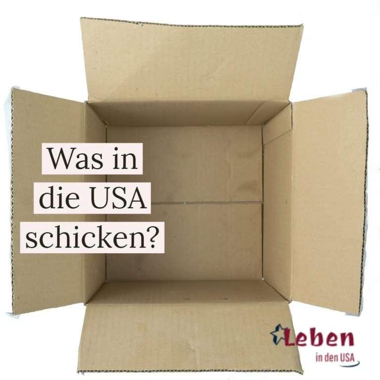 Was von Deutschland in die USA schicken?