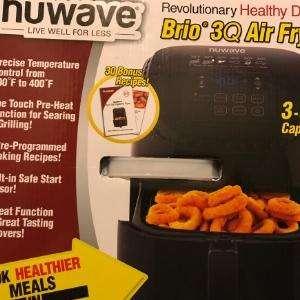 Produkttest Air Fryer NuWave Brio 3Q  getestet mit Video