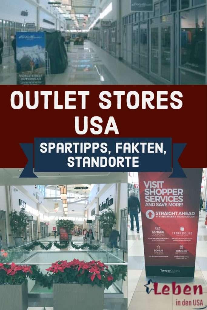 Outlet Stores USA was ist das und wie findet man die Outlets