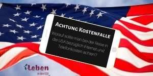 Handy kosten USA Reise
