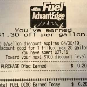 Spare in den USA mit Gas Rewards an der Tankstelle