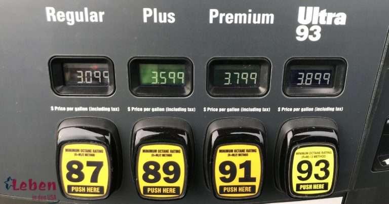 Wie geht Tanken in den USA und Tipps zum Sparen
