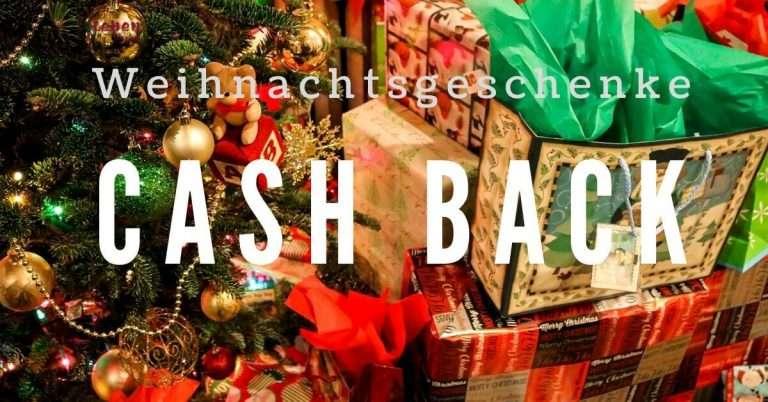 Kaufe Weihnachtsgeschenke Cash Back erhalten