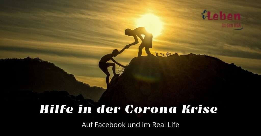 Corona Virus Hilfe auf Facebook