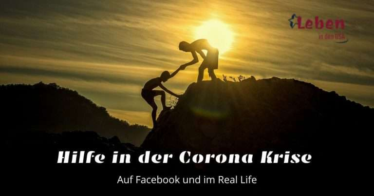 Corona Virus Krisenhilfe auf Facebook und im real Life