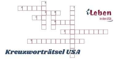 Kreuzworträtsel USA