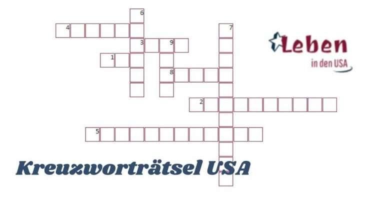 Kreuzworträtsel USA – Die Staaten