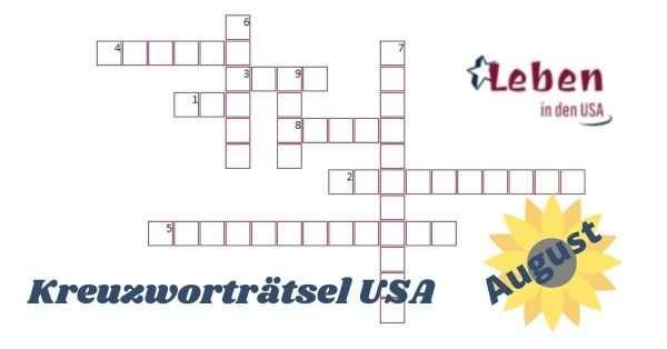 Rätsel über die Staaten der USA