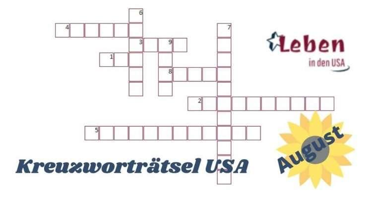 Rätsel zu den Staaten der USA Teil 1