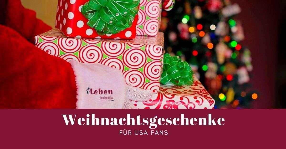 Weihnachtsgeschenke für USA Fans
