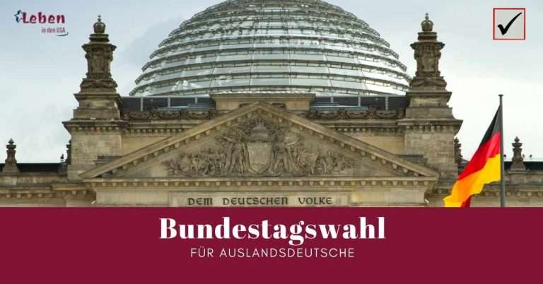 Bundestagswahl aus dem Ausland