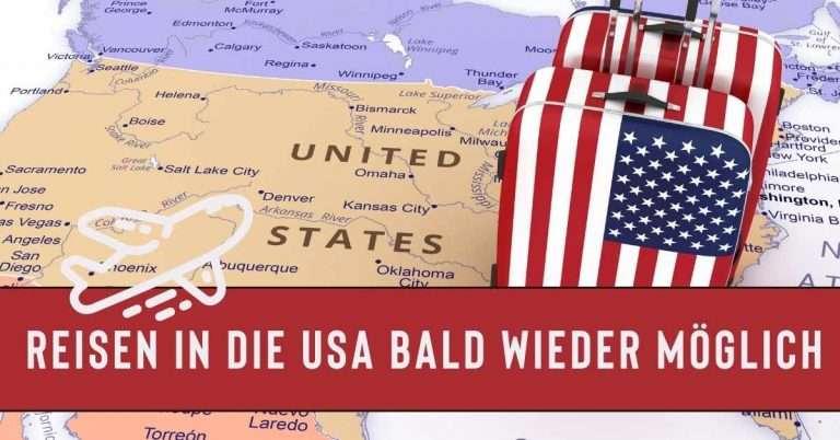 Endlich! Urlaub in den USA ab November wieder möglich!